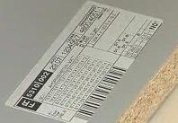 Etiquetage planches de bois